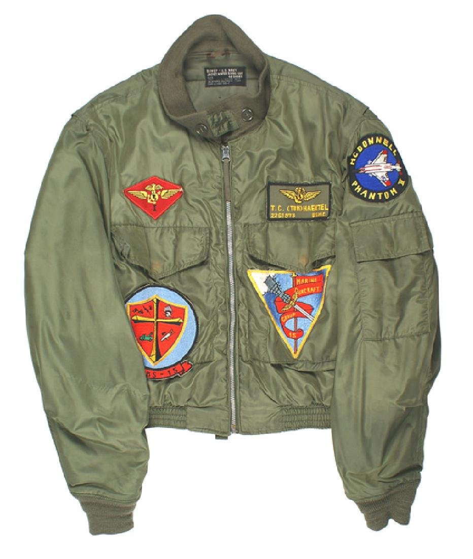 USMC Vietnam Era winter flying jacket