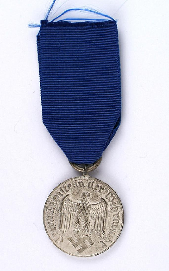 German WWII Army 4 Year Long Service Medal