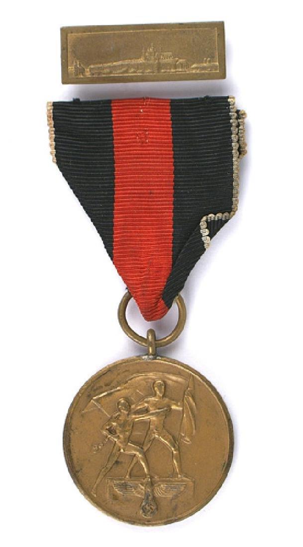 German WWII Sudetenland Annexation Medal