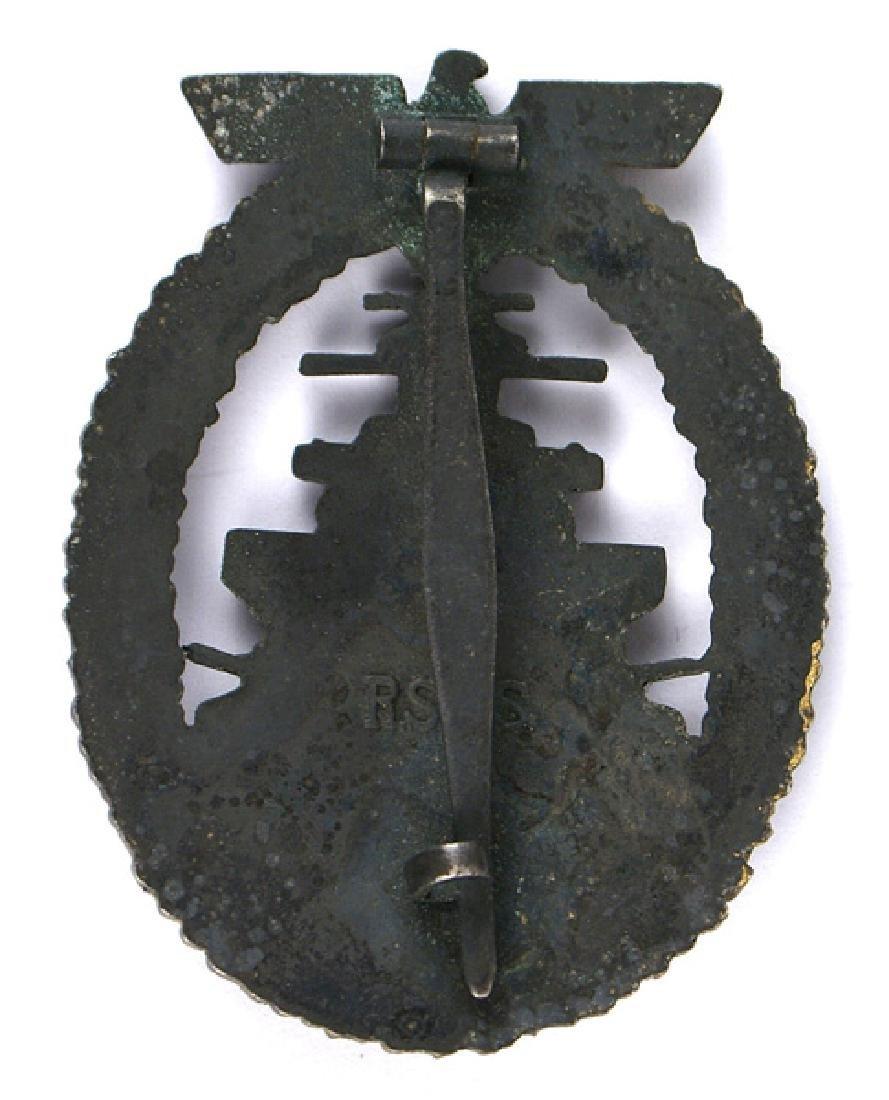 German WWII Navy Fleet Service Badge - 2