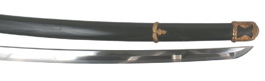 Japanese WWII Navy katana samurai sword - 2