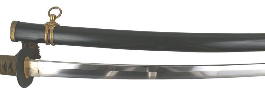 Japanese WWII Navy katana samurai sword - 3