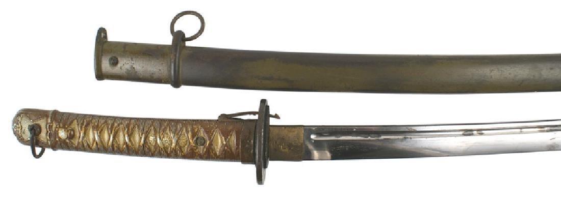 Japanese WWII NCO katana samurai sword