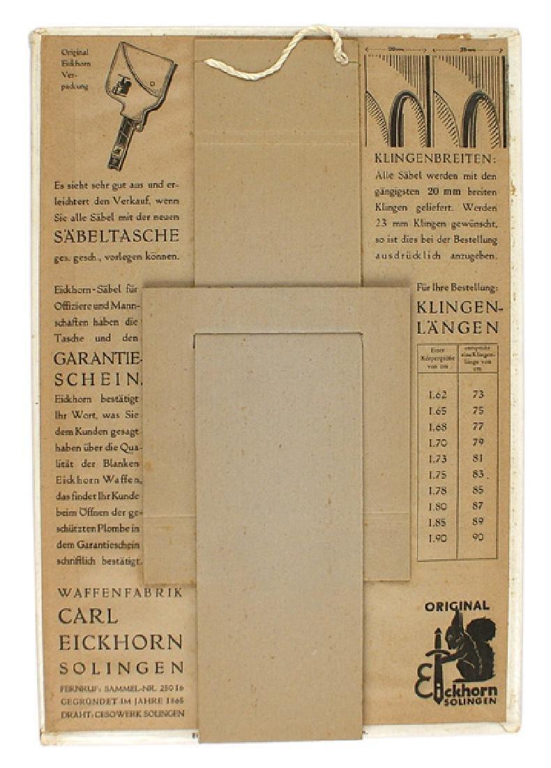 German Third-Reich advertisement EICKHORN - 2