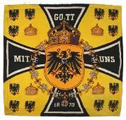 Personal automobile standard Prussian Kaiser Wilhelm II