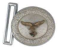 German WWII Luftwaffe officer belt buckle