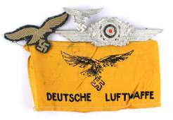 Lot of German WWII Luftwaffe items