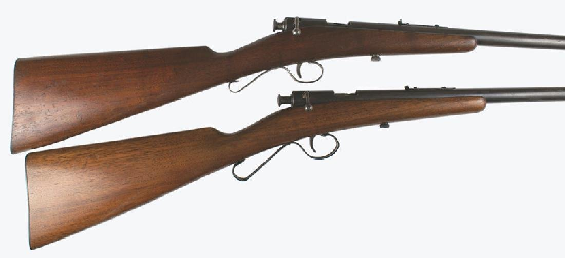 Lot of 2 rifles Savage Model 1904