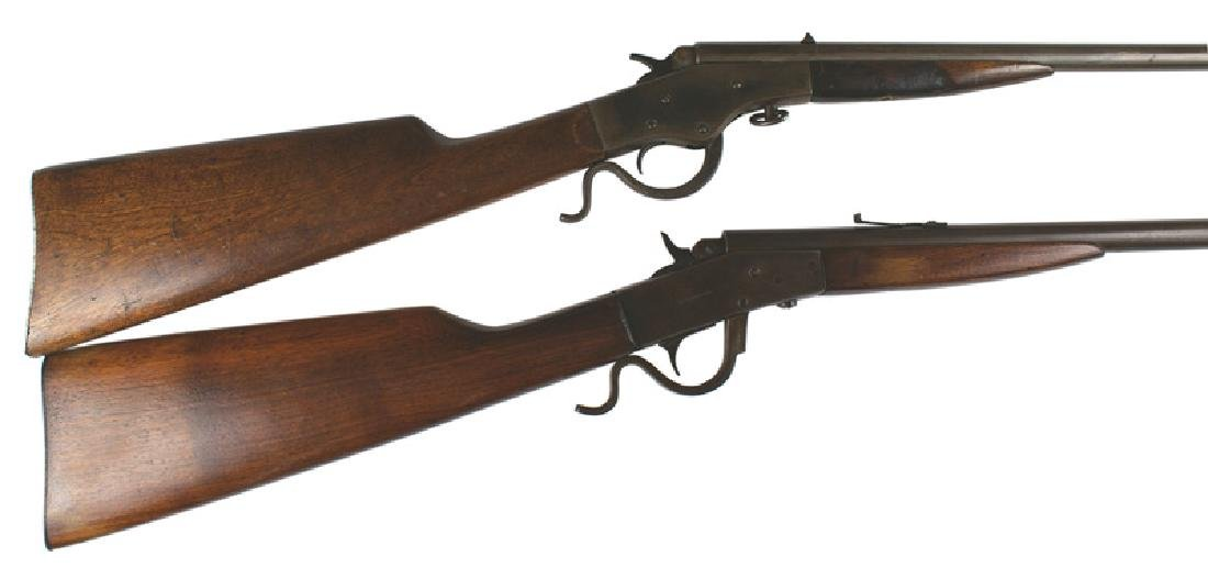 Lot of 2 rifles Stevens Page Lewis Model B