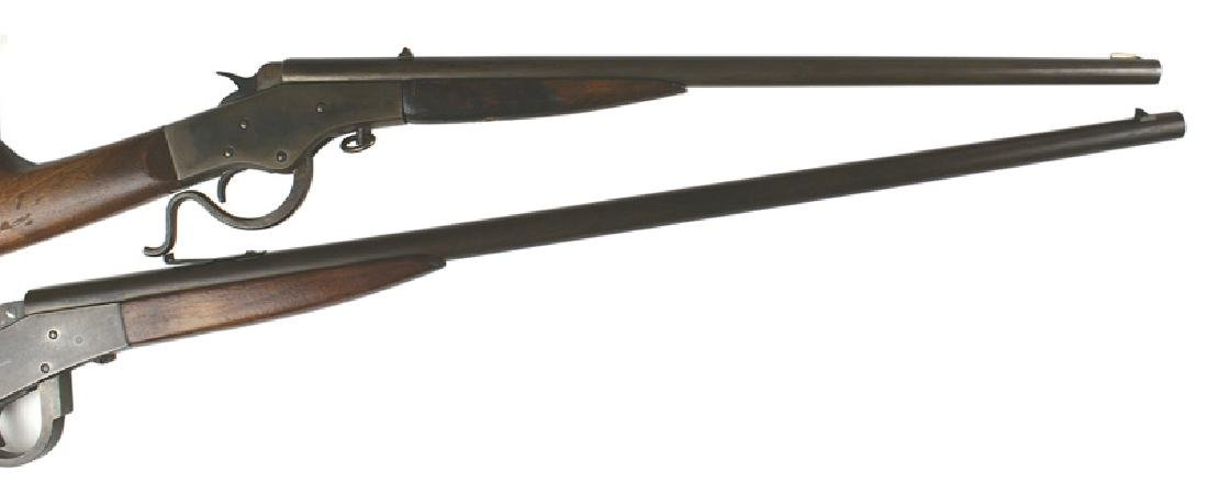 Lot of 2 rifles Stevens Page Lewis Model B - 2