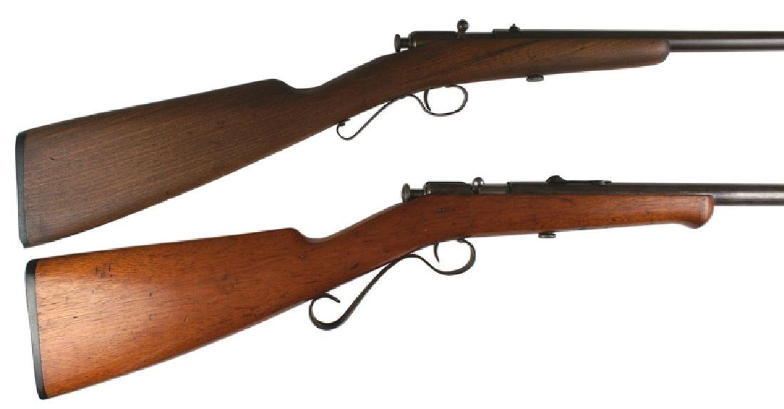 Lot of 2 rifles Winchester Model 2 and 4