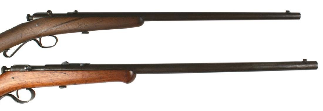 Lot of 2 rifles Winchester Model 2 and 4 - 2