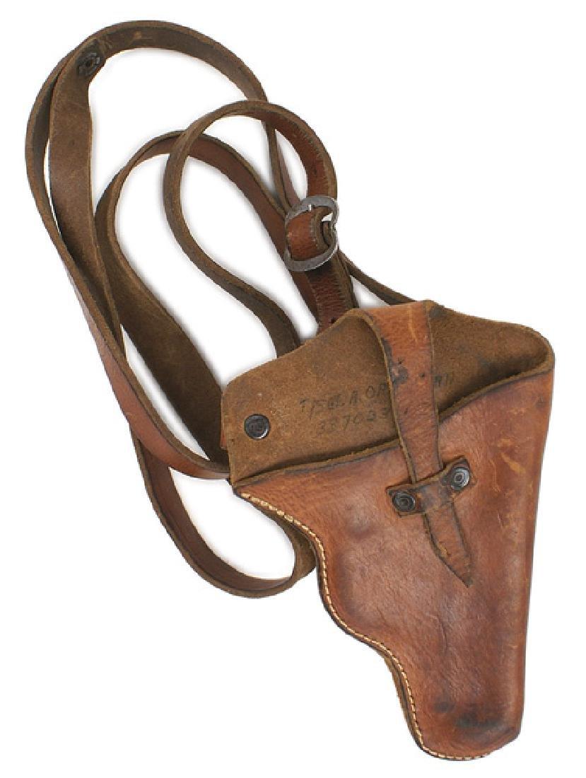German WWII shoulder holster pistol