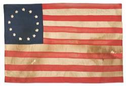 American 13 star flag