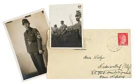 Lot of 2 German WWII photos Hitler RAD