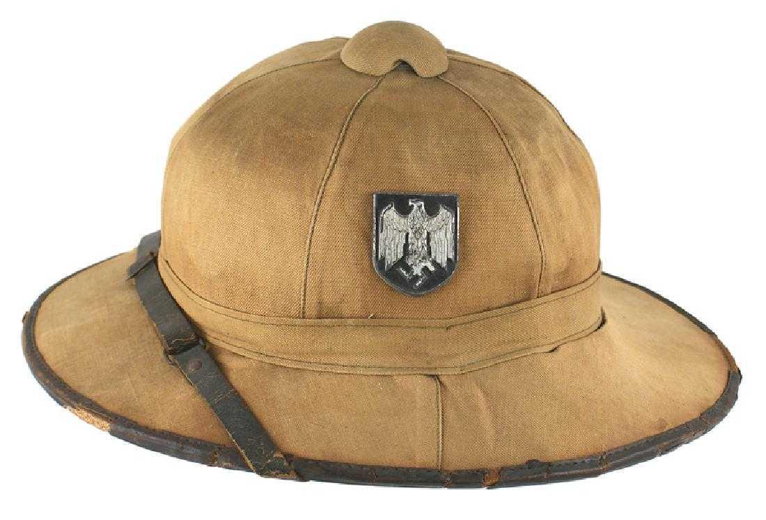 5b87cfa3b8b31 German WWII 1st model 1941 Afrika Korps pith helmet