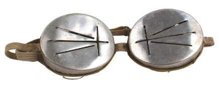 German WWII Mountain Troops goggles