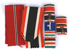German WWII ribbon bars lot