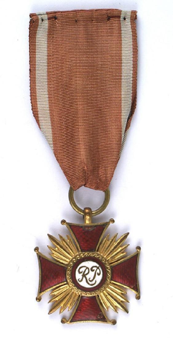 Poland Cross of Merit 1st Class Medal
