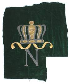 Original French Napoleon Bonaparte embroidered lot