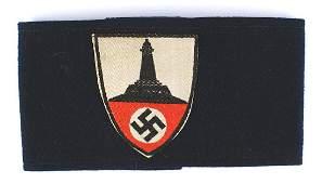 German WWII War Veterans Support armband