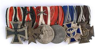 Reproduction German WWII medal bar