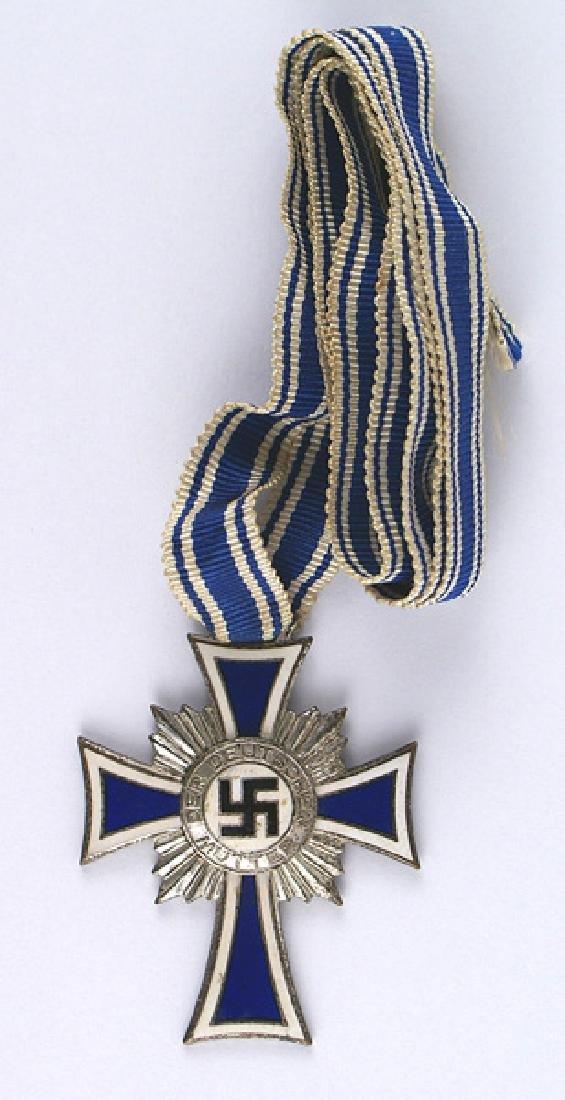 German WWII Mothers Cross Silver