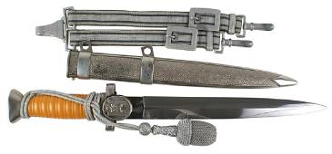 German WWII Social Welfare Leader dress dagger