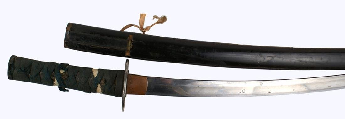 Japanese wakizashi short sword 18th Century
