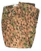 German WWII Waffen SS Panzer camo trousers