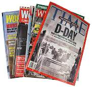 Lot of 16 magazines WWII TIME D Day