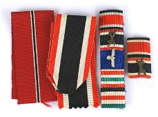 German WWII ribbon bars Iron Cross KvK