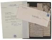 U.S. WWII letters Gen. Mark Clark