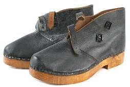 German made WWII shoe boots