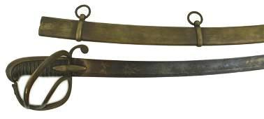 German made Napoleonic Light Cavalry saber sword