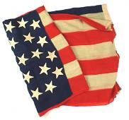 US 38 star American flag converted to 42