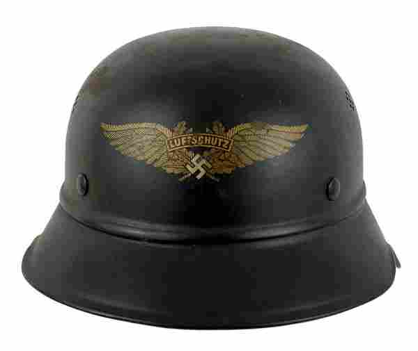 German WWII Luftschutz gladiator helmet