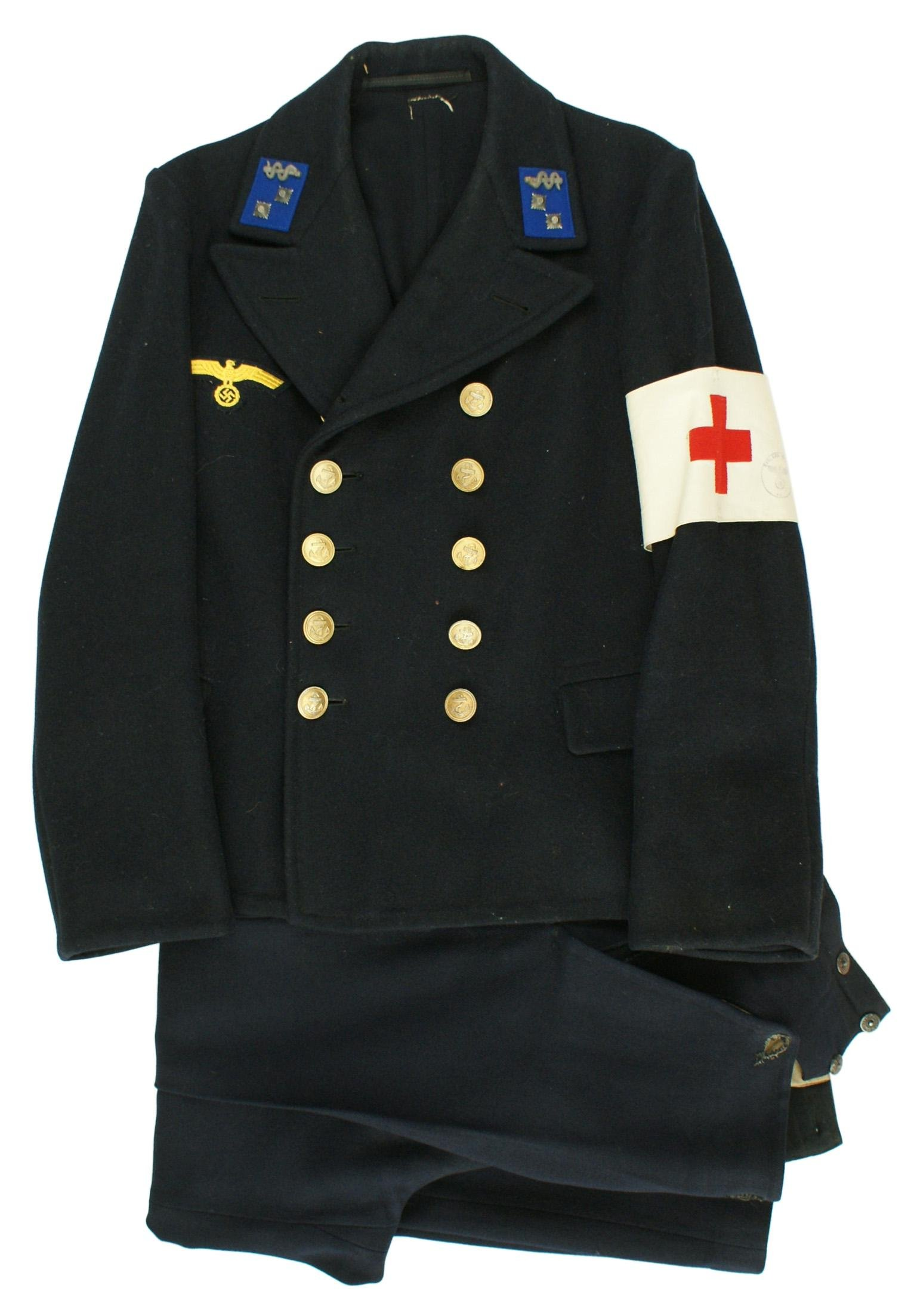 German Kriegsmarine WWII Medical uniform