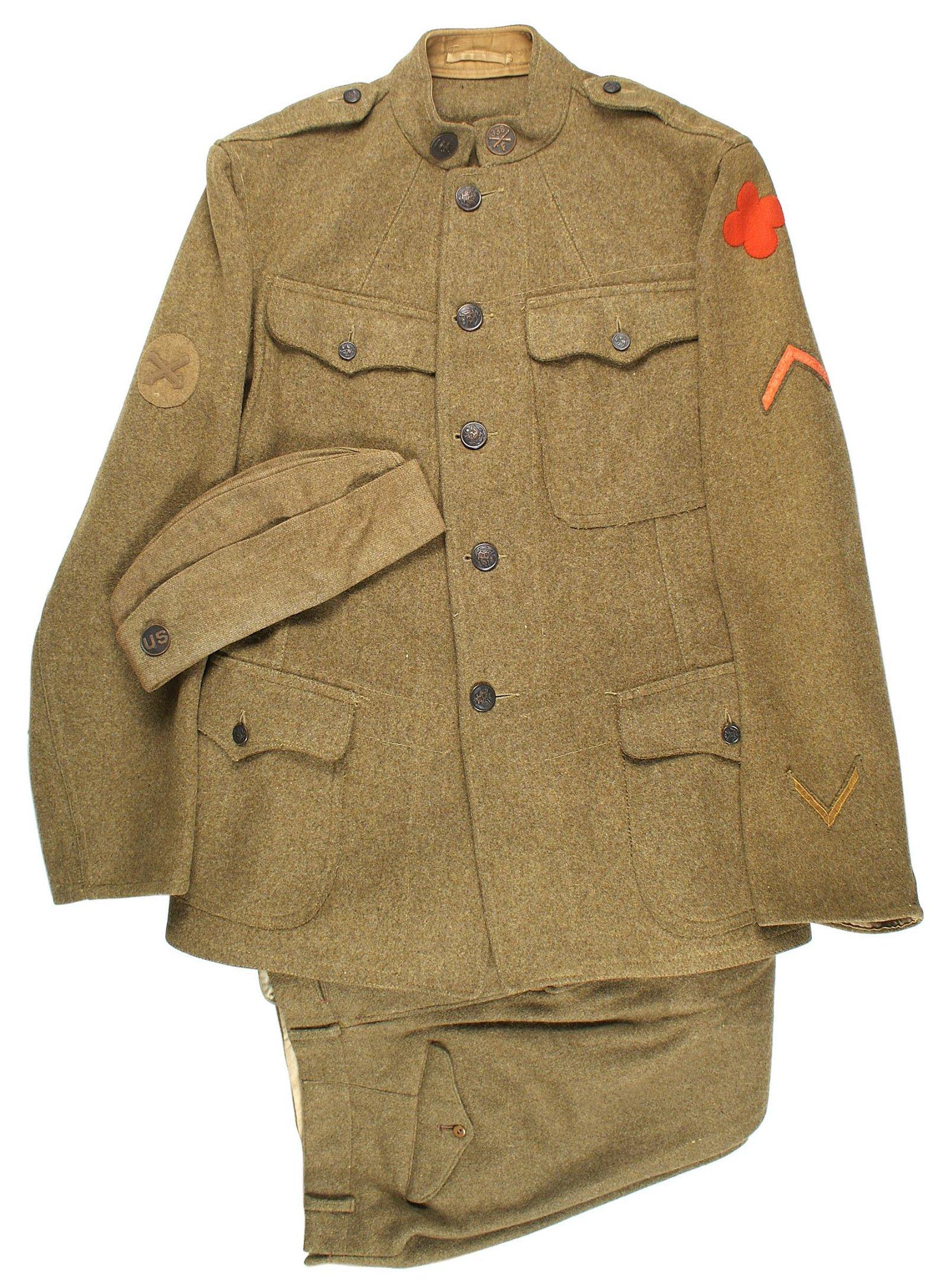 US WWI 88th Division uniform