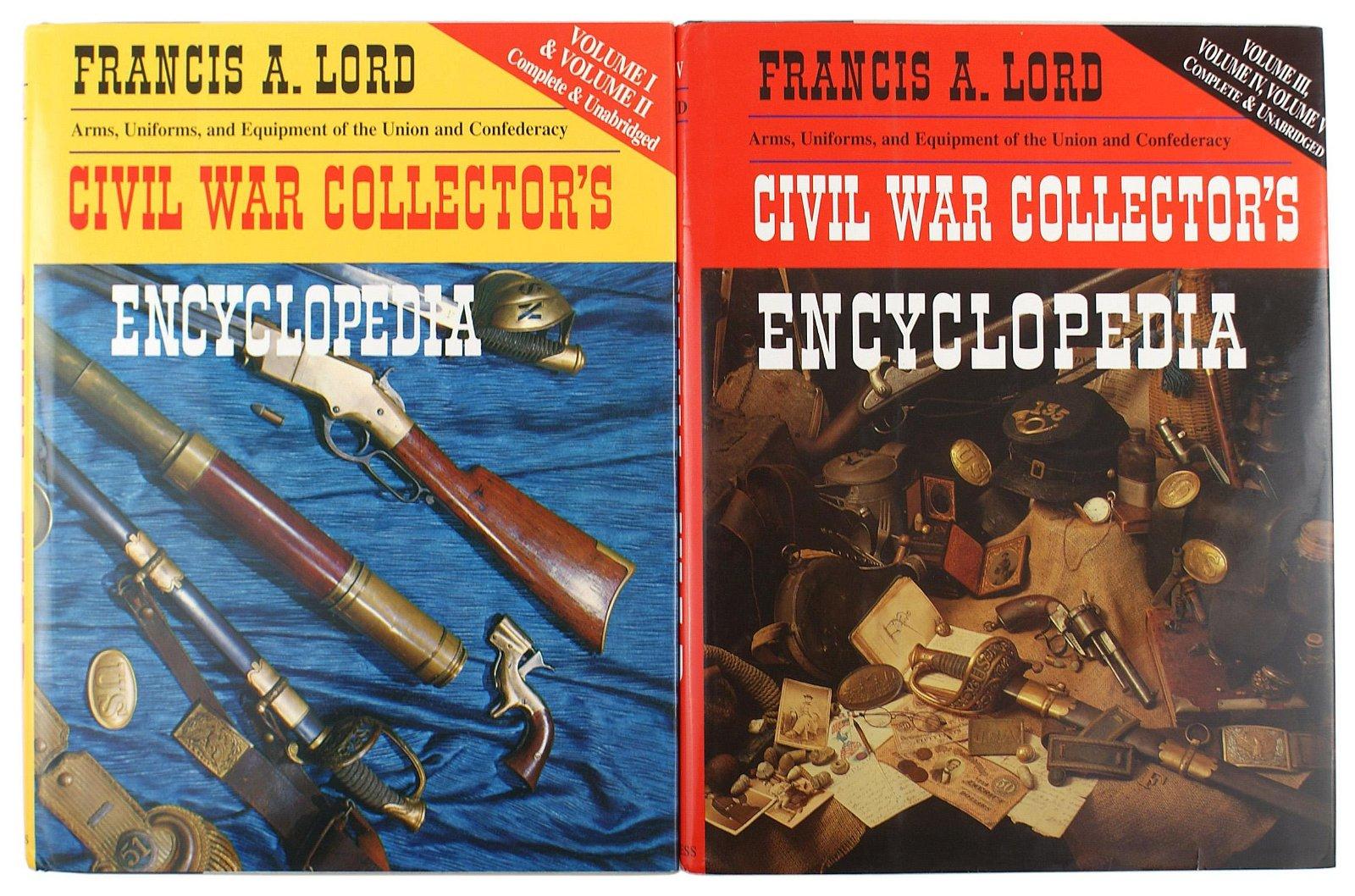 Set of 2 CIVIL WAR COLLECTORS books
