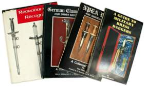 Lot of 4 German WWII edged weapons reference books