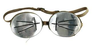 German WWII Army Mt Troops snow goggles