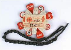 German WWII Hitler Youth lot lanyard thread