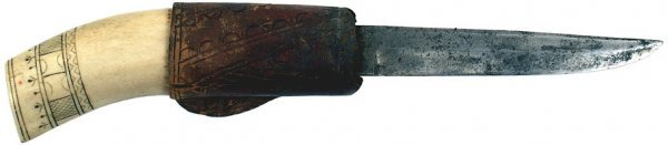 13: Lapp knife circa 1920s