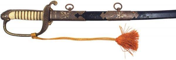 376: Japanese WWII Navy officer dress sword