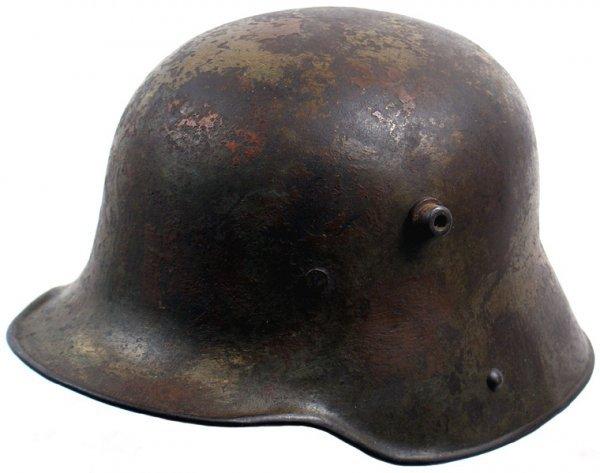 466: German WWI M1916 helmet camouflage