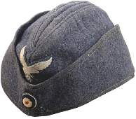 557 German WWII Luftwaffe EM oseas cap