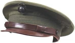 589 US USMC WWII officer peaked cap