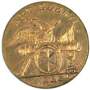 9: U.S. Militia Artillery button Circa 1814 - 1821