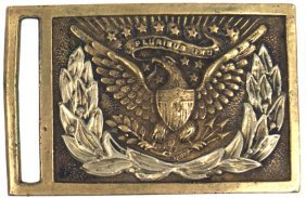 U.S. M1851 Brass Sword Belt Plate